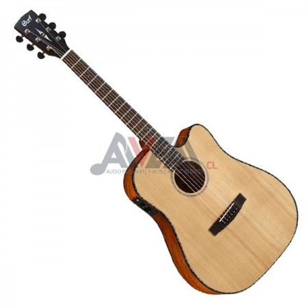GUITARRA FOLK ELEC MR-E NS CORT