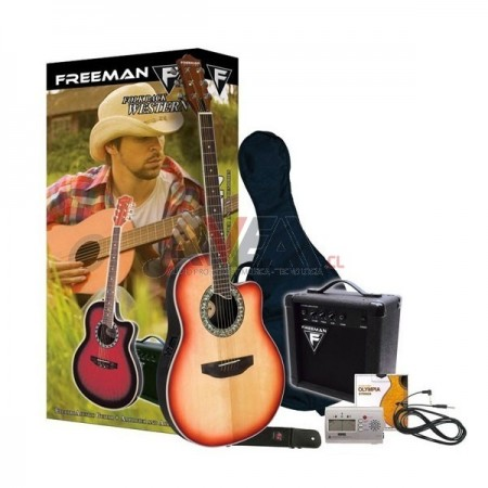 GUITARRA WESTERN PACK FREEMAN
