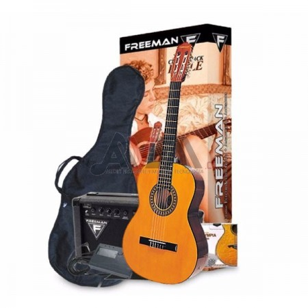 PACK GUITARRA EAGLE NT FREEMAN