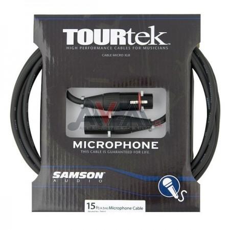 CABLE DE MICRÓFONO TM15 4,5 METROS SAMSON