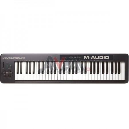CONTROLADOR MIDI KEYSTATION 61 II M-AUDIO