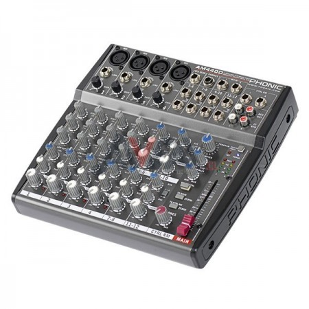 CONSOLA MIXER AM440D CON EFECTO PHONIC
