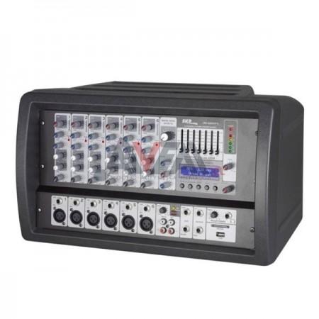 CABEZAL MIXER POTENCIADO CRX-626 MP3 SKP