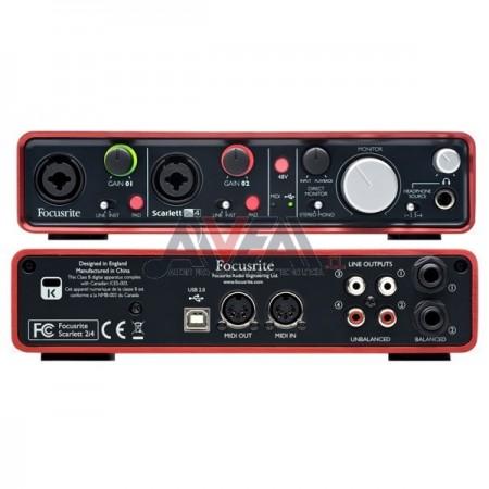 INTERFAZ SCARLETT 2I4 MK2 USB FOCUSRITE