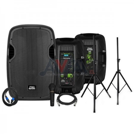 SET AMPLIFICACION POWER STAGE 215 PROBASS